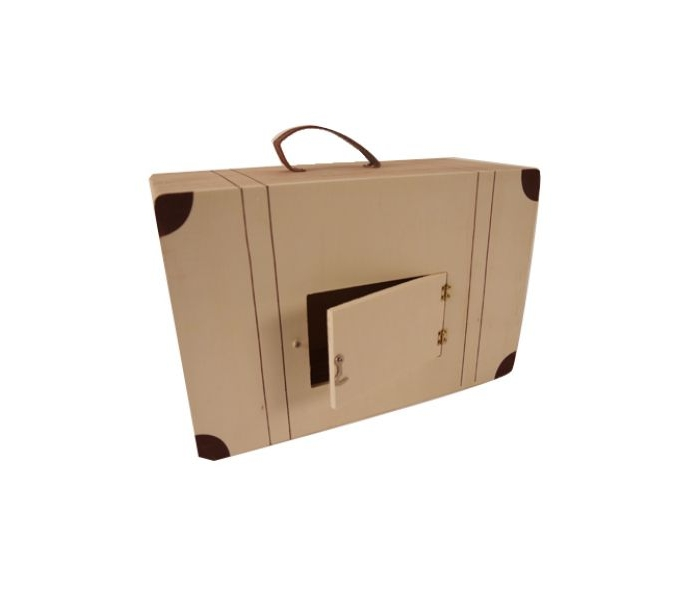 location valise urne en bois par souchon r ception. Black Bedroom Furniture Sets. Home Design Ideas