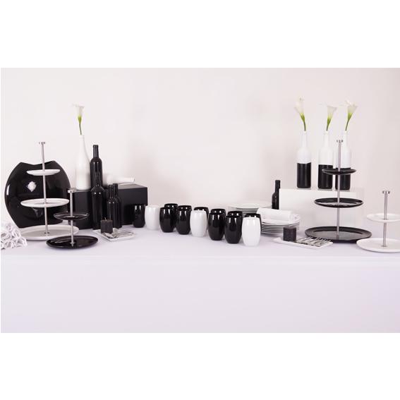 Deco de table noir et blanc pas cher les 25 meilleures for Art et decoration abonnement le moins cher