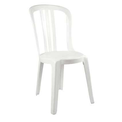 Chaise bistrot exterieur latest chaises d exterieur - Chaise bistrot blanche ...