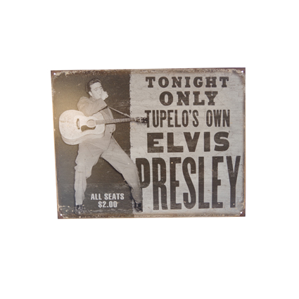 Plaque Elvis