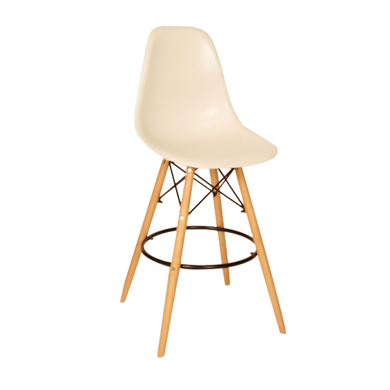 Chaise bar eames eames dsw chair with chaise bar eames for Chaise dsw blanche