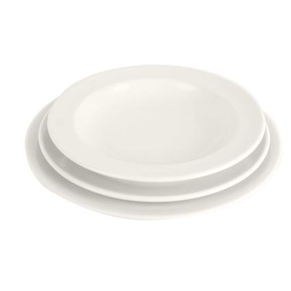 vaisselle porcelaine blanche good assiette dessert. Black Bedroom Furniture Sets. Home Design Ideas