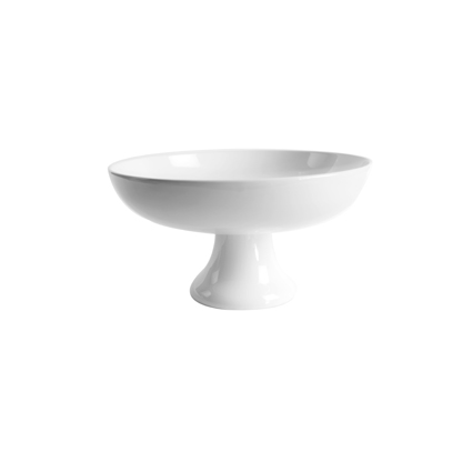 Coupe porcelaine blanche