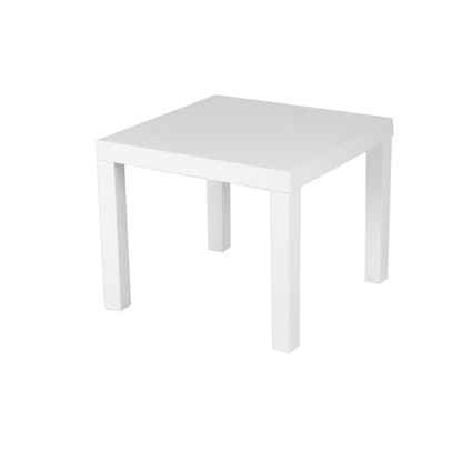 Table blanche 55*55