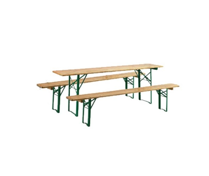 location table et bancs pliants par souchon r ception. Black Bedroom Furniture Sets. Home Design Ideas