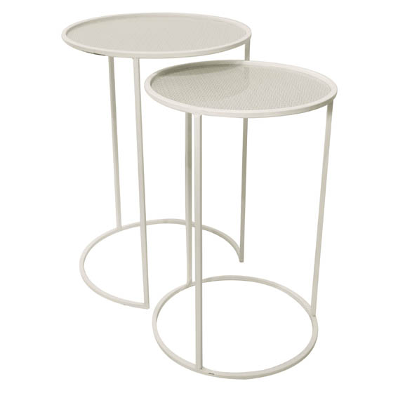 Set de 2 tables Sweden