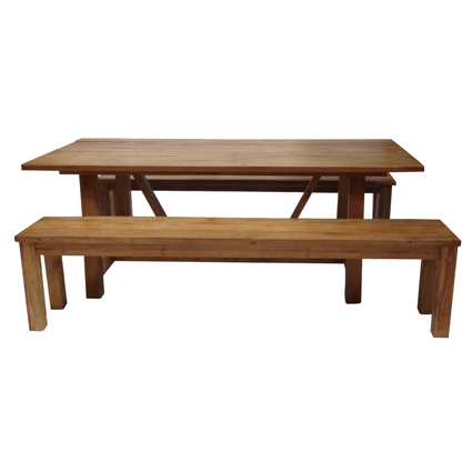 Ensemble  table Sauternes